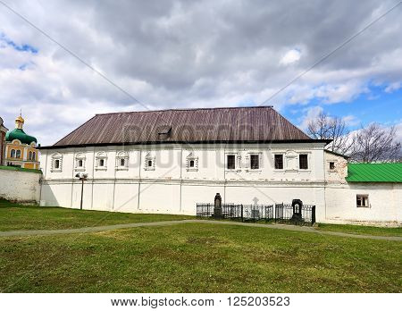 Consistorial housing and burial of the Spassky Monastery in Ryazan Kremlin