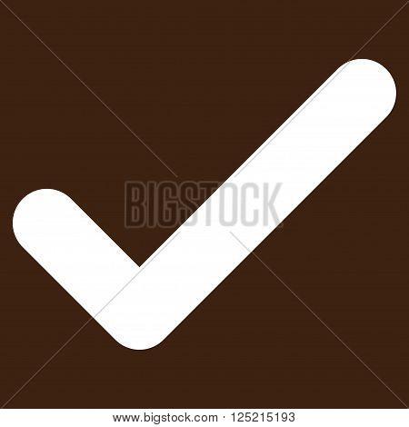 Ok vector icon. Ok icon symbol. Ok icon image. Ok icon picture. Ok pictogram. Flat white ok icon. Isolated ok icon graphic. Ok icon illustration.