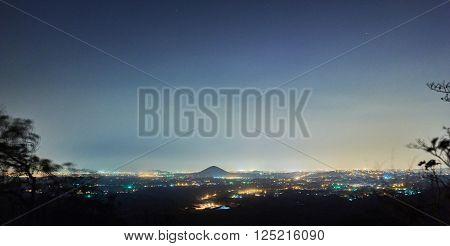 Panorama View Of Managua City