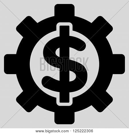 Financial Options vector icon. Financial Options icon symbol. Financial Options icon image. Financial Options icon picture. Financial Options pictogram. Flat black financial options icon.