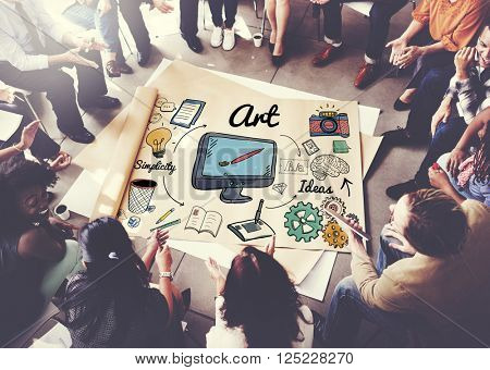 Art Artistry Creative Gallery Imagination Impression Concept