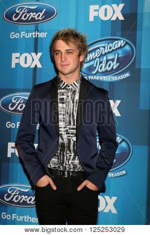 LOS ANGELES - APR 7:  Dalton Rapattoni at the American Idol FINALE Arrivals at the Dolby Theater on April 7, 2016 in Los Angeles, CA
