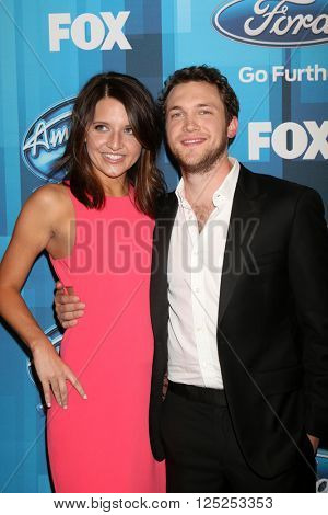 LOS ANGELES - APR 7:  Phillip Phillips at the American Idol FINALE Arrivals at the Dolby Theater on April 7, 2016 in Los Angeles, CA