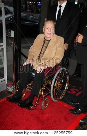 LOS ANGELES - APR 9:  Larry Flynt at the Hustler Hollywood Grand Opening at the Hustler Hollywood on April 9, 2016 in Los Angeles, CA