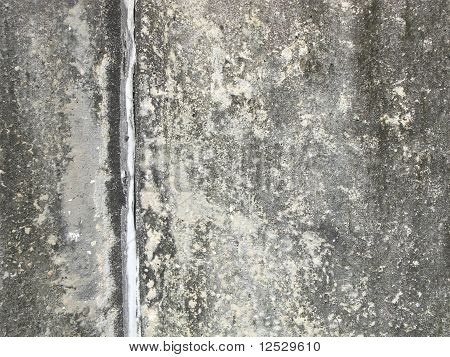 concrete texture with vertical line on left
