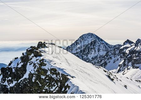 Mountains In Winter.