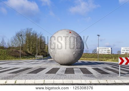 Globe At Headquarters Of Famous Camera Manufactur Leitz