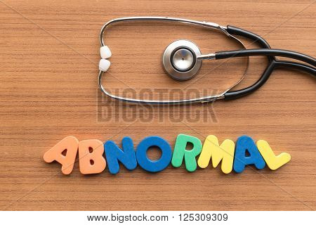 Abnormal Medical Word