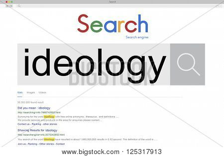 Ideology Philosophy Teaching Theory Concept