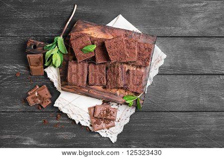 Chocolate Cake Brownie