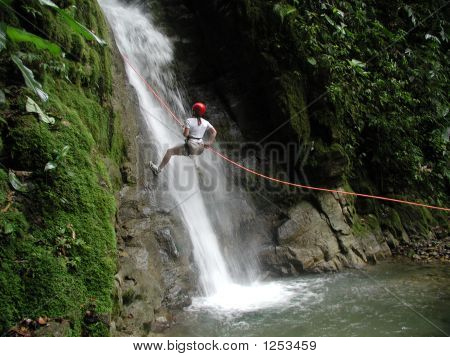 Lady Repelling Falls