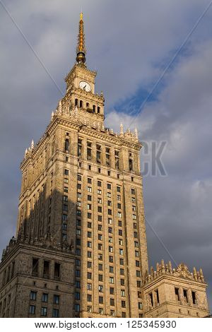 Palace Of Science And Culture, Warsaw, Poland