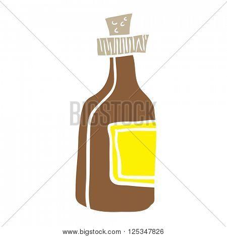 bottle cartoon illustration