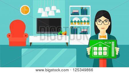 Smart home application.