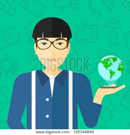 International technology communication.