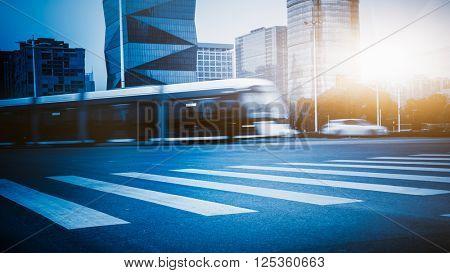 driving tramcar,nanjing city.