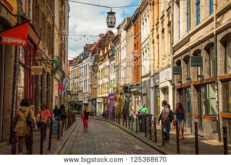 Lille Downtown, France