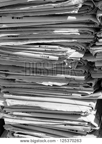 Newspapers Will Become Recycled Paper Leading Them In The Ecocentre