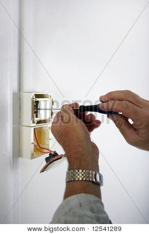Installation of a switch