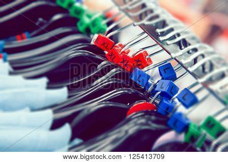 Clothes hangers sizes