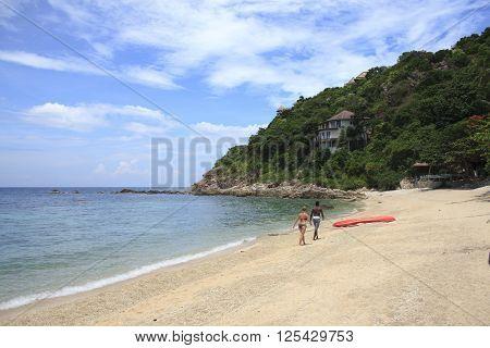 Bech Of Koh Tao Island