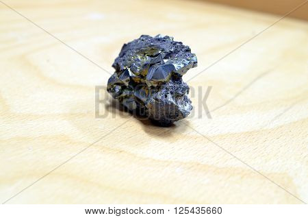 dark black ore material rock crystallized perfectly poster