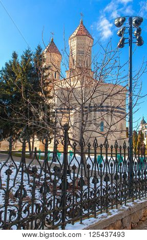 three holy hierarchs church in Iasi city from Romania
