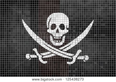 Pirate flag - Illustration, 