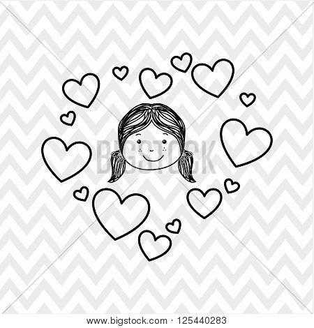family love design, vector illustration eps10 graphic
