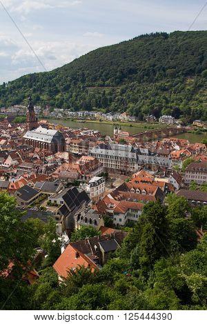 Heidelberg City High View