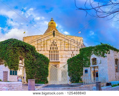 The Basilica of Annunciation is the most notable landmark of Nazareth Israel.