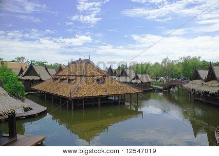 Market ayutthaya Mueng Boran