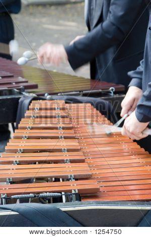 Man Playing Vibraphon