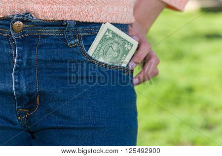 Money In Pocket