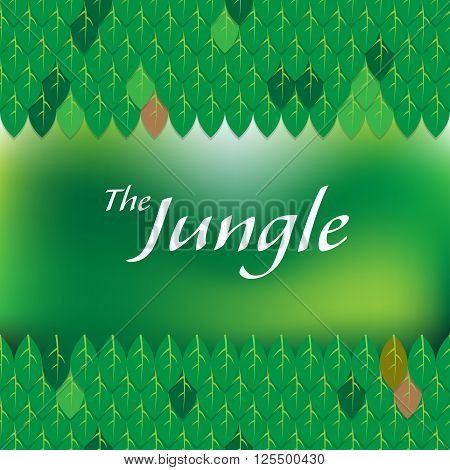 The Jungle Label Title Frame