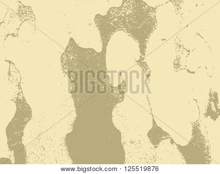 Bark close up texture vector illustration. Beige colors