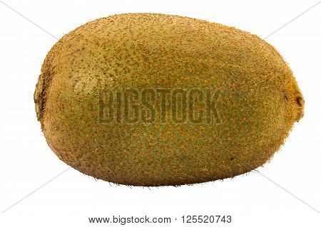 Kiwifruit isolated on white background and cipping path
