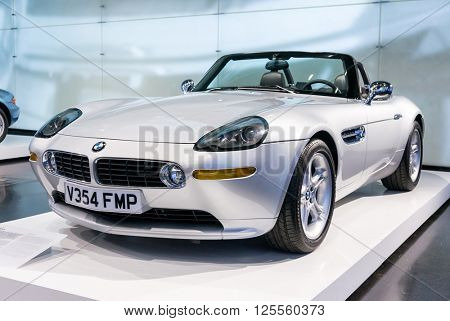 Munich, Germany - March 10, 2016: BMW Museum