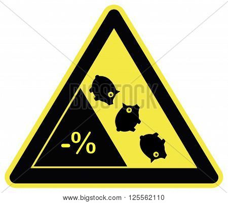 Warning Deflation Ahead. Negative interest rates means losing money