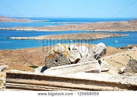 Famous   In Delos Greece