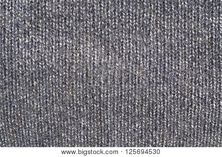 Grey sweater texture close up background texture