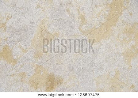 Old white painted wall background texture close up