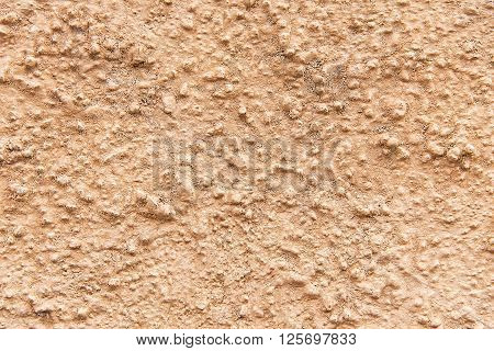 Old brown painted wall background texture close up