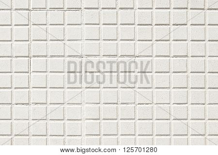 Old white pavement background texture close up