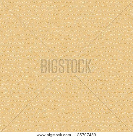 Seamless stylized sand or cork pattern. Vintage polka dot paper. Digital paper for scrapbook. Classic polka dot seamless background.