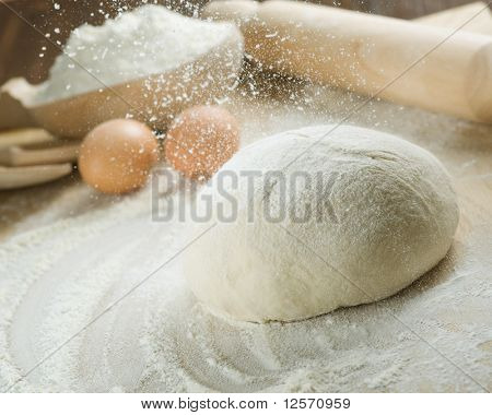 Process of Bread cooking