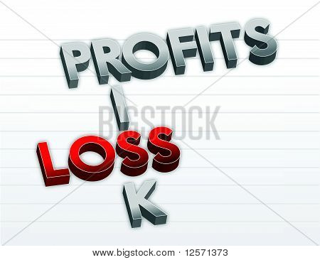 Profits risk loss
