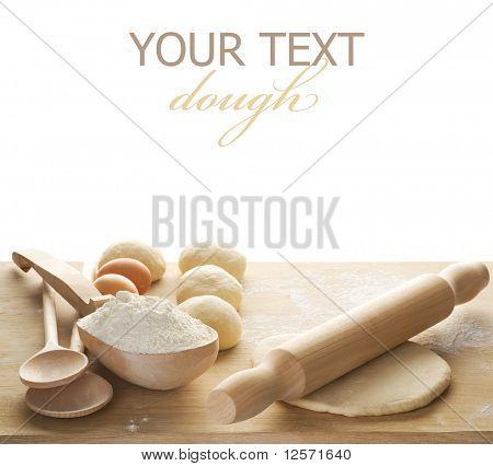 Dough border