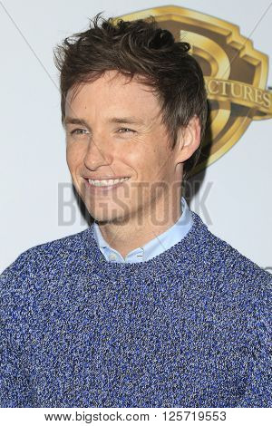 LAS VEGAS - APR 12: Eddie Redmayne at the Warner Bros. Pictures Presentation during CinemaCon at Caesars Palace on April 12, 2016 in Las Vegas, Nevada