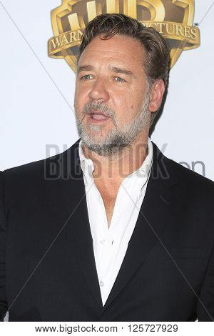 LAS VEGAS - APR 12: Russell Crowe at the Warner Bros. Pictures Presentation during CinemaCon at Caesars Palace on April 12, 2016 in Las Vegas, Nevada